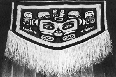 A Chilkat blanket
