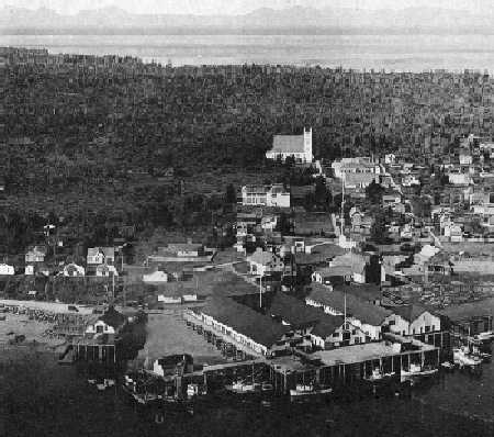 View of town in Metlakatla