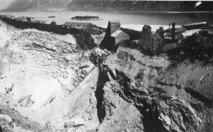 Treadwell Mine on Douglas Island